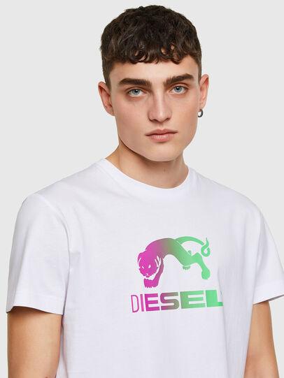 Diesel - T-DIEGOS-E30, Weiß - T-Shirts - Image 3