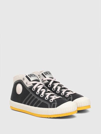 Diesel - S-YUK MC, Schwarz/Gelb - Sneakers - Image 2
