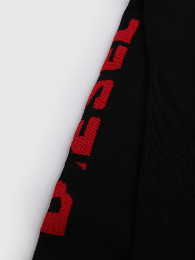 SKM-LONG, Schwarz/ Rot