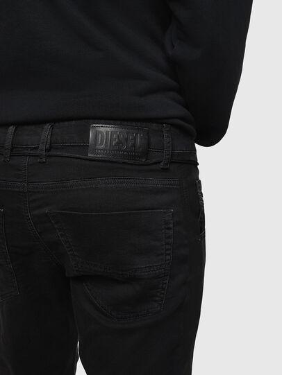 Diesel - Krooley JoggJeans 069JH, Schwarz/Dunkelgrau - Jeans - Image 4