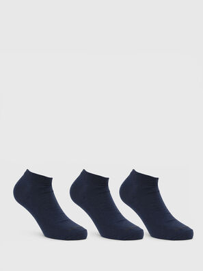 SKM-GOST-THREEPACK, Blau - Kurze Socken