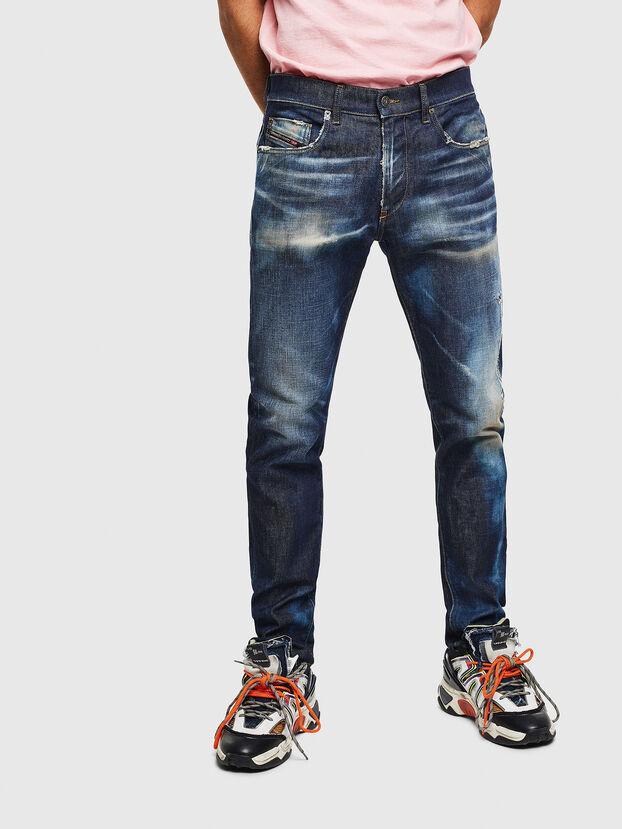 D-Strukt 009BH, Dunkelblau - Jeans