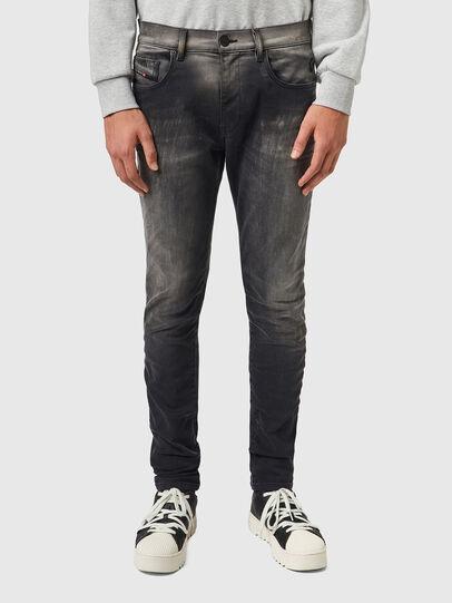 Diesel - D-Strukt JoggJeans® 09B04, Schwarz/Dunkelgrau - Jeans - Image 1
