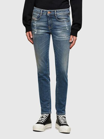 Diesel - D-Ollies JoggJeans® 069UW, Mittelblau - Jeans - Image 1