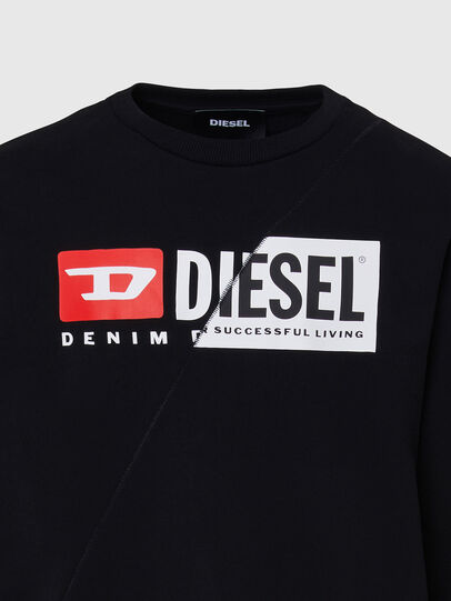 Diesel - S-GIRK-CUTY, Schwarz - Sweatshirts - Image 3