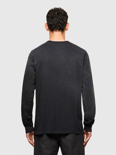 Diesel - T-JUBIND-LS, Schwarz - T-Shirts - Image 2