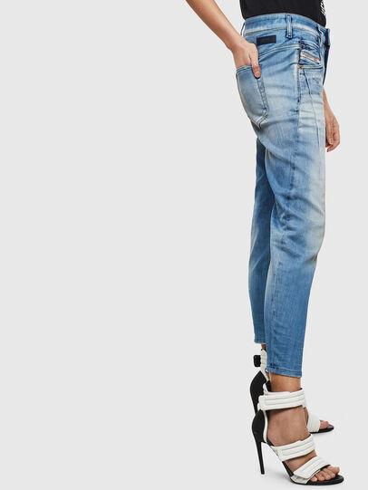 Diesel - Fayza JoggJeans 0099Q, Mittelblau - Jeans - Image 5