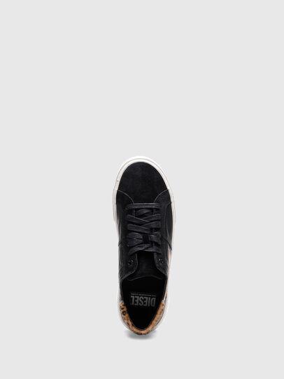 Diesel - S-MYDORI LL W, Blau/Gold - Sneakers - Image 4