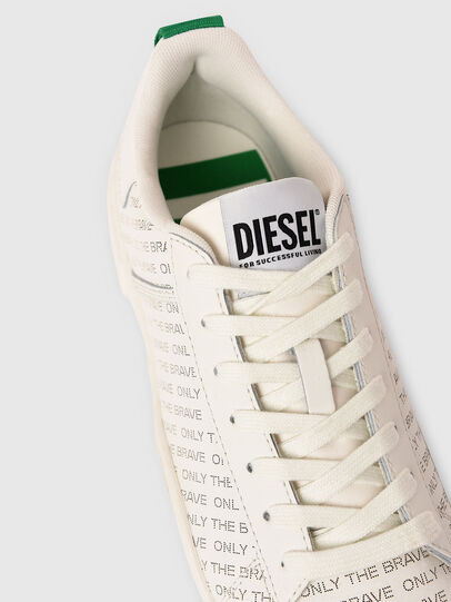 Diesel - S-CLEVER LOW LACE, Weiss/Grün - Sneakers - Image 4