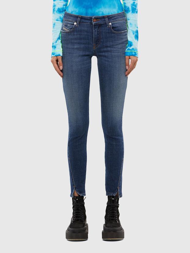 D-Jevel 009JK, Mittelblau - Jeans