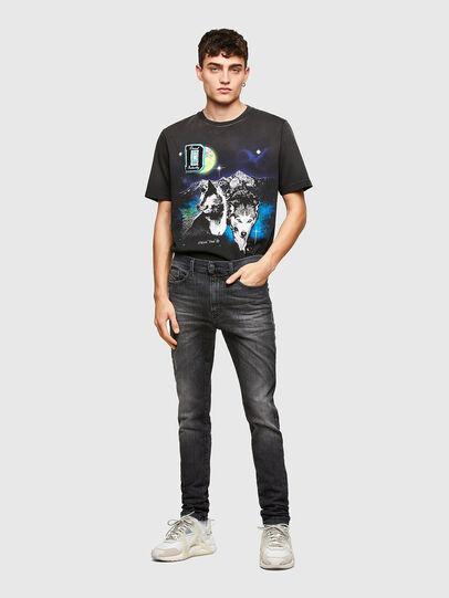 Diesel - D-Reeft JoggJeans® 009SU, Schwarz/Dunkelgrau - Jeans - Image 5