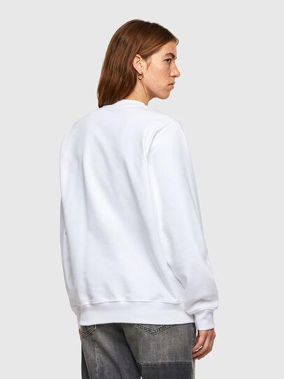 Diesel - F-ANG-SMALLOGO, Weiß - Sweatshirts - Image 2
