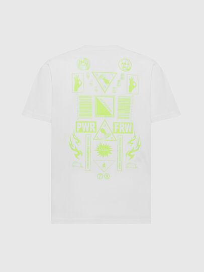 Diesel - T-JUST-SLITS-X84, Weiß - T-Shirts - Image 2