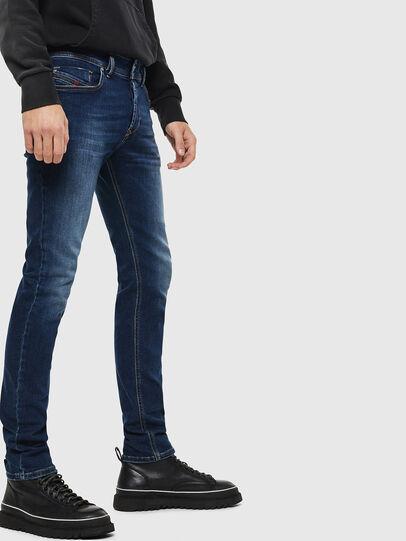 Diesel - Sleenker 086AJ, Mittelblau - Jeans - Image 4