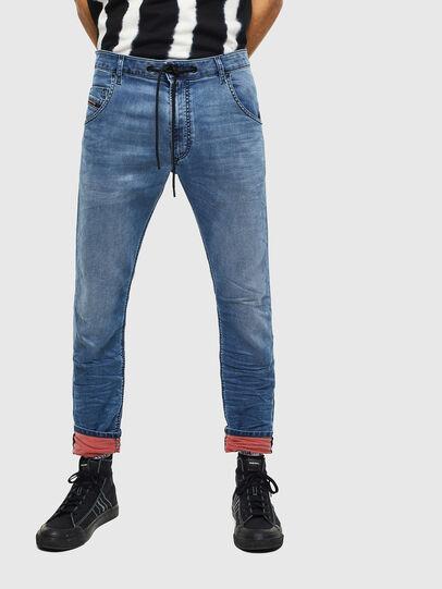 Diesel - Krooley JoggJeans 069MA, Mittelblau - Jeans - Image 1