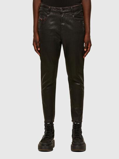 Diesel - FAYZA JoggJeans® 069PG, Schwarz/Orange - Jeans - Image 1