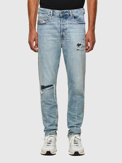 Diesel - D-Vider 009JR, Hellblau - Jeans - Image 1