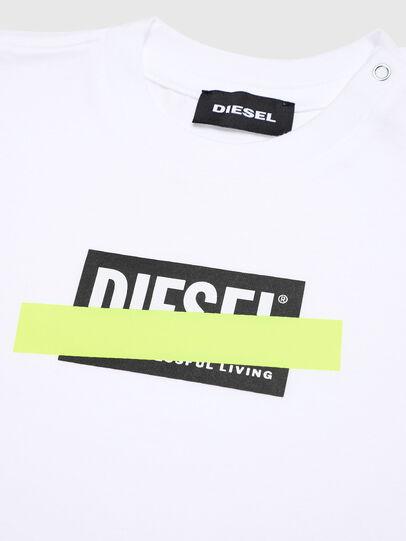 Diesel - TJUSTDIXB, Weiß - T-Shirts und Tops - Image 3