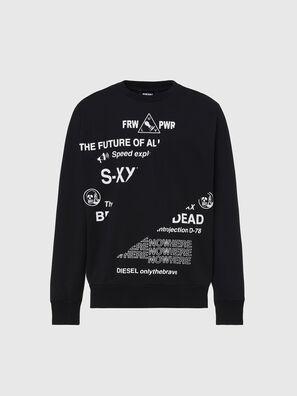 S-GIRK-FOLDED, Schwarz - Sweatshirts