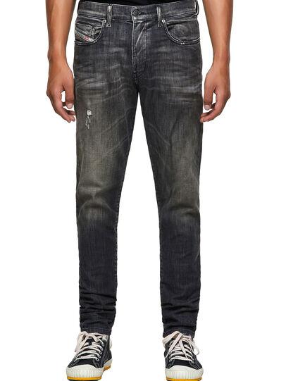 Diesel - D-Strukt JoggJeans® 09B54, Schwarz/Dunkelgrau - Jeans - Image 1