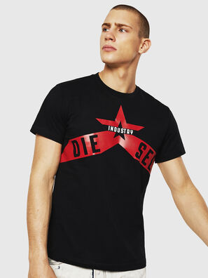 T-DIEGO-A7, Schwarz - T-Shirts