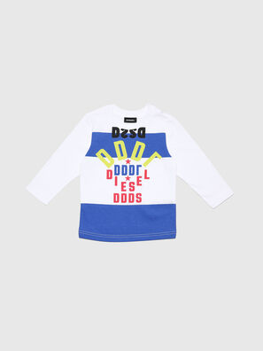 TOLIB-R, Weiß/Blau - T-Shirts und Tops