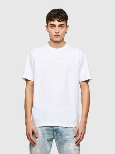Diesel - T-JUST-E7, Weiß - T-Shirts - Image 1