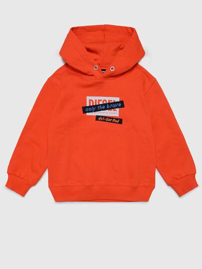 Diesel - SONELGET OVER, Orange - Sweatshirts - Image 1