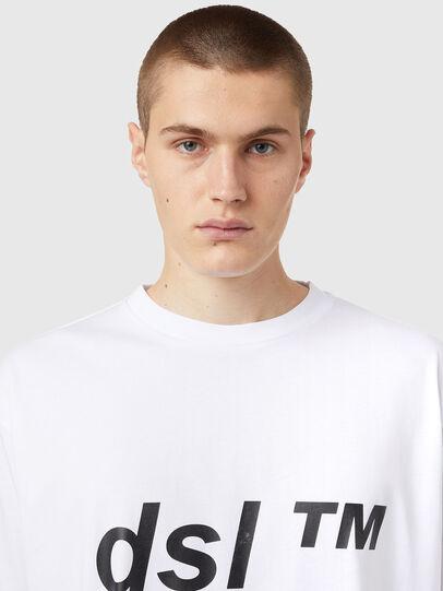 Diesel - T-BALM, Weiß - T-Shirts - Image 3