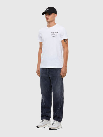 Diesel - T-DIEGOS-N21, Weiß - T-Shirts - Image 5