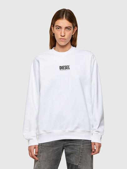 Diesel - F-ANG-SMALLOGO, Weiß - Sweatshirts - Image 1