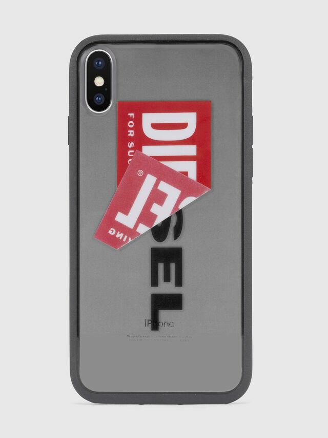 Diesel STICKER IPHONE X CASE, Schwarz - Schutzhüllen - Image 2