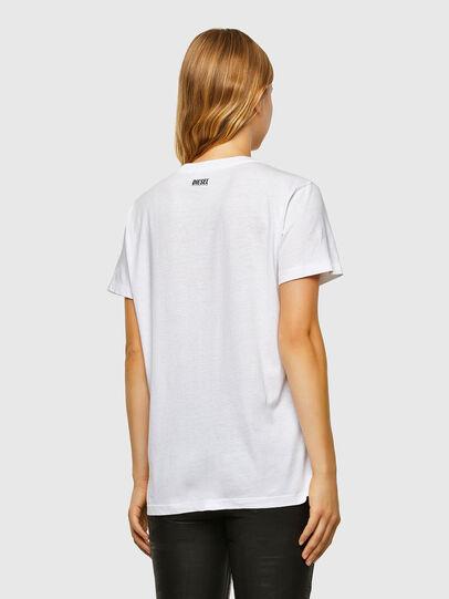 Diesel - T-DARIA-V33, Weiß - T-Shirts - Image 2