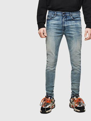 D-Amny 069LH, Mittelblau - Jeans