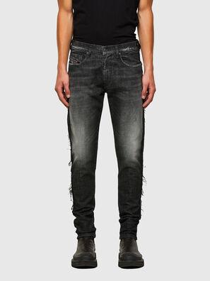 D-Strukt 009HY, Schwarz/Dunkelgrau - Jeans
