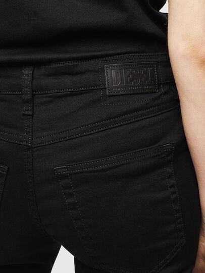 Diesel - Babhila 069EI, Schwarz/Dunkelgrau - Jeans - Image 4