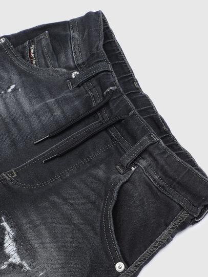 Diesel - KROOLEY-J JOGGJEANS, Schwarz/Dunkelgrau - Jeans - Image 3
