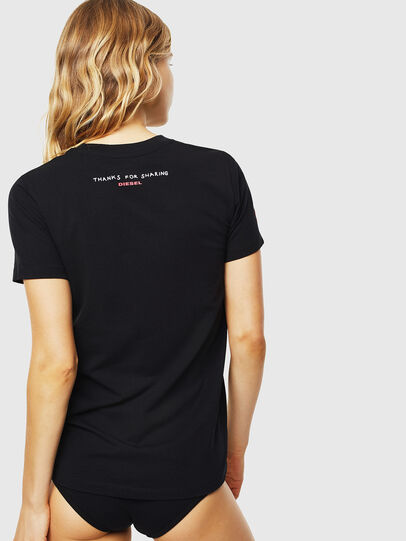 Diesel - UFTEE-SILY-INT, Schwarz - T-Shirts - Image 2