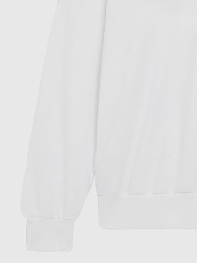 Diesel - S-GIR-DIVISION-LOGO, Weiß - Sweatshirts - Image 4