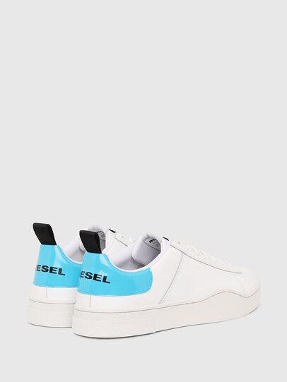 Diesel - S-CLEVER LOW LACE, Weiß/Blau - Sneakers - Image 3
