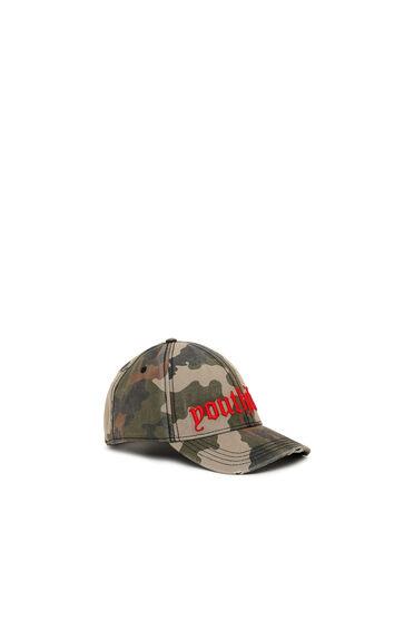 Basecap mit Camouflage-Print