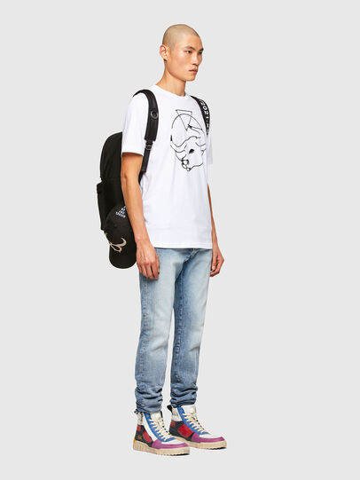 Diesel - CL-T-JUST-O, Weiß - T-Shirts - Image 7