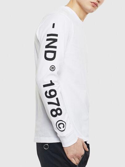 Diesel - T-JUST-LS-T14, Weiß - T-Shirts - Image 3