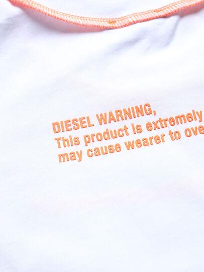 Diesel - TJUSEAM, Weiß - T-Shirts und Tops - Image 3