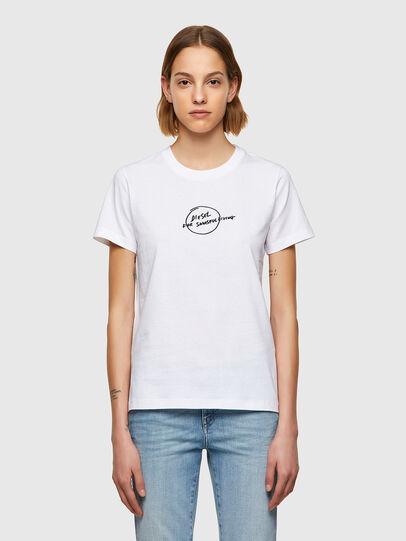 Diesel - T-SILY-B8, Weiß - T-Shirts - Image 1