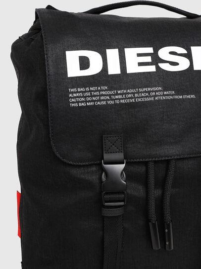 Diesel - VOLPAGO BACK, Schwarz - Rucksäcke - Image 4