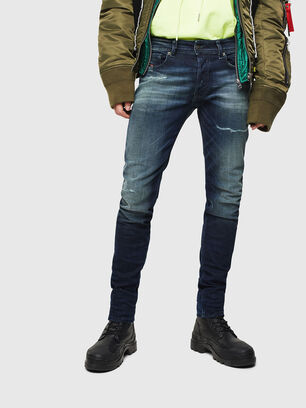 Sleenker 0097P, Dunkelblau - Jeans