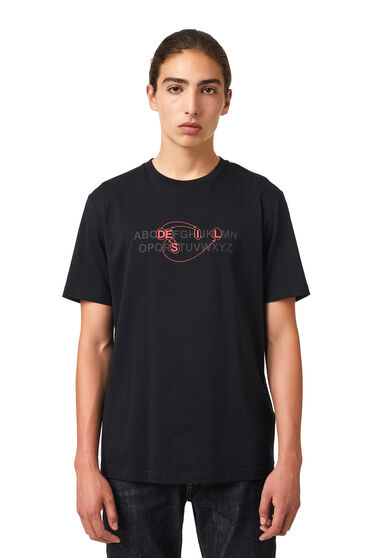 T-Shirt mit Alphabet-Logo