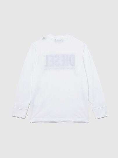 Diesel - TJUSTLOGO ML, Weiß - T-Shirts und Tops - Image 2