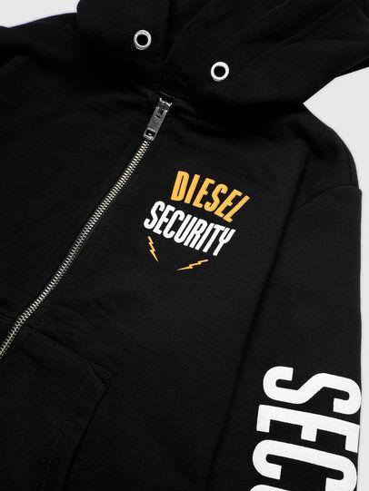 Diesel - SUMMERZIPN72 OVER, Schwarz - Sweatshirts - Image 3